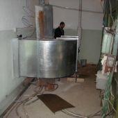 Вентиляционный корб  для дизель-генератора
