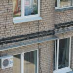 Кондиционер в жилом здании
