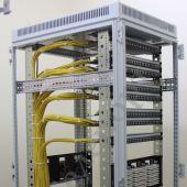 Монтаж структуированных кабельных систем и сетей для отделений Сбербанка РФ в городе Тверь